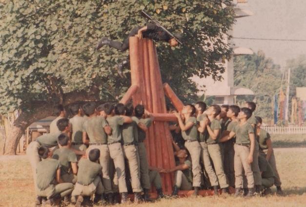 atraksi halang rintang gegana tahun 1988