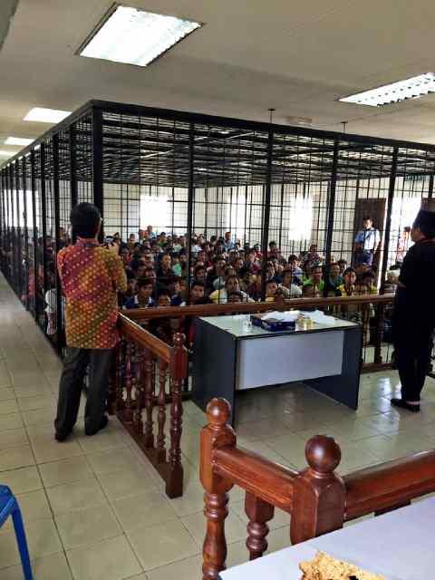 Pengamanan pilpres di Penjara Kimanis, Papar - Kinabalu