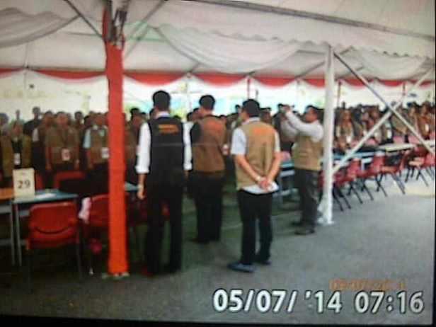 Pengambilan sumpah dan Janji petugas PPLN Kuala Lumpur