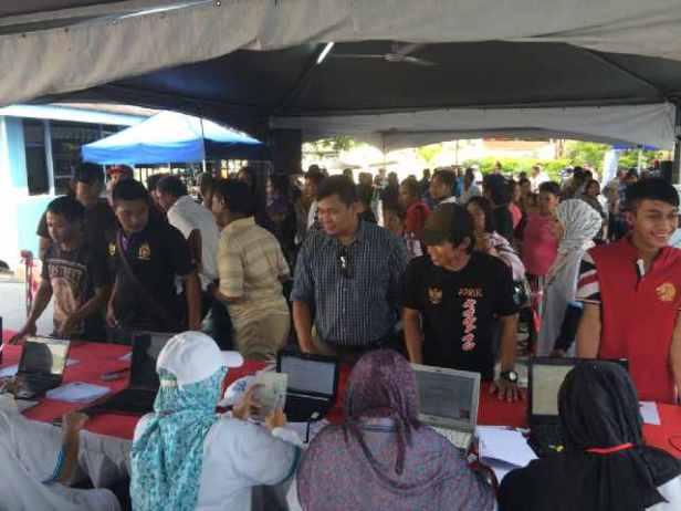suasana di KJRI Kinabalu..