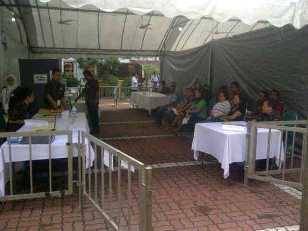 Suasana TPS 2 KJRI Penang
