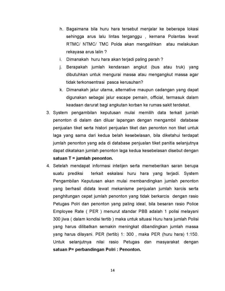 SISTEM PENGAMBILAN KEPUTUSAN PENANGANAN HURU HARA PASCA PERTANDINGAN SEPAK BOLA_Page_14