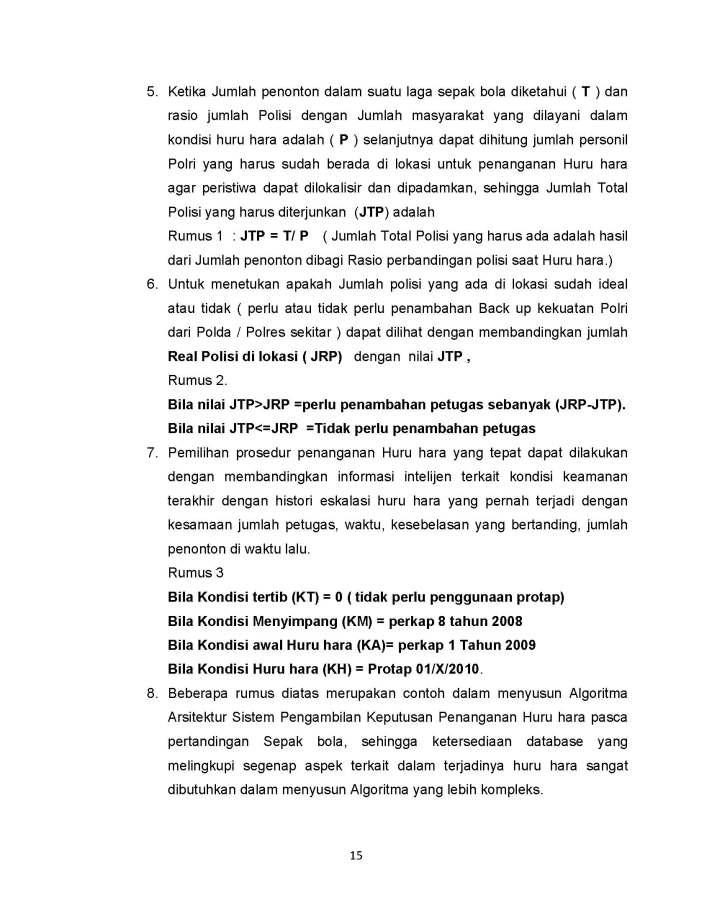 SISTEM PENGAMBILAN KEPUTUSAN PENANGANAN HURU HARA PASCA PERTANDINGAN SEPAK BOLA_Page_15